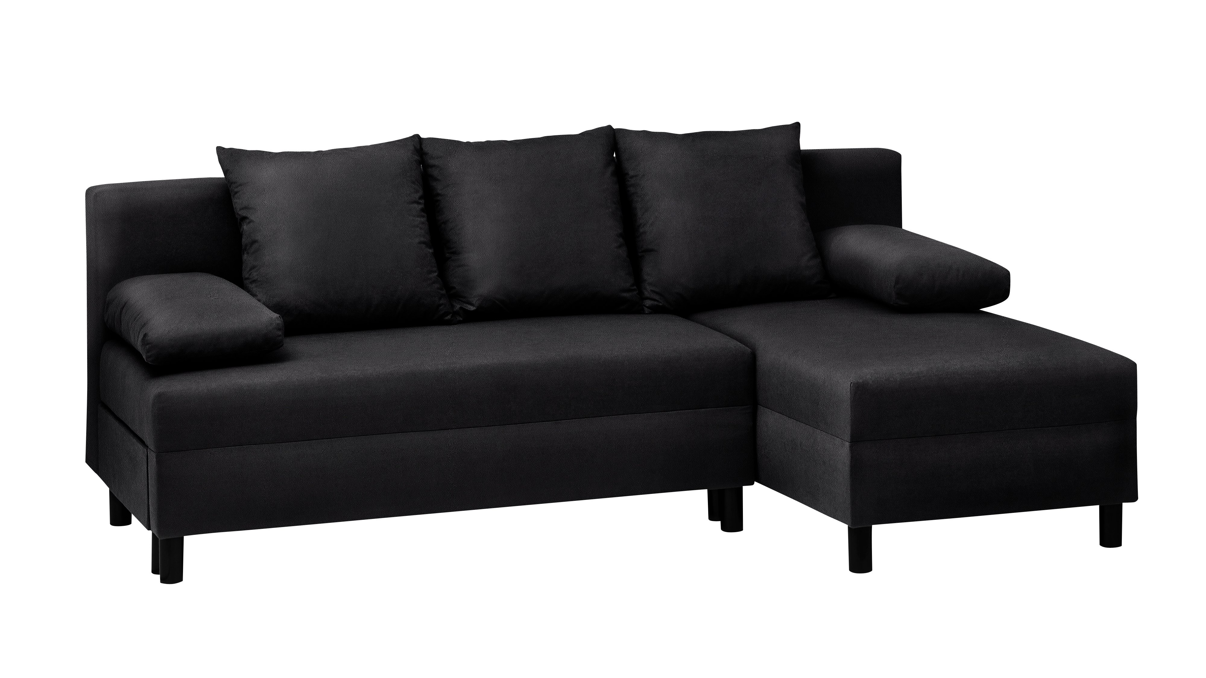 Seating three people comfortably in sofa mode it has a contemporary design that will look great in