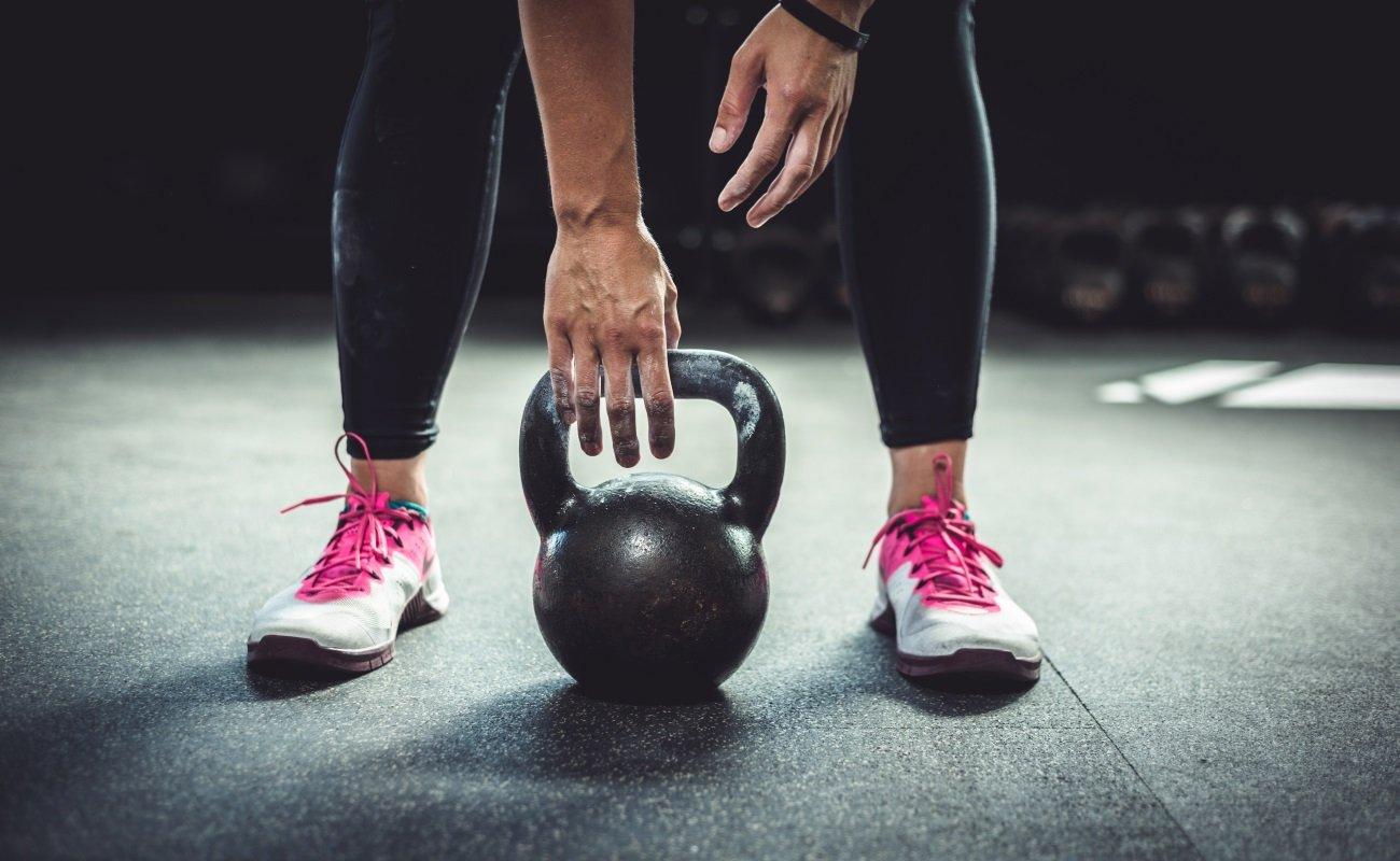 Phoenix Fitness Pink Kettle Bells For Home and Gym Workout 2KG,4KG,6KG,8KG