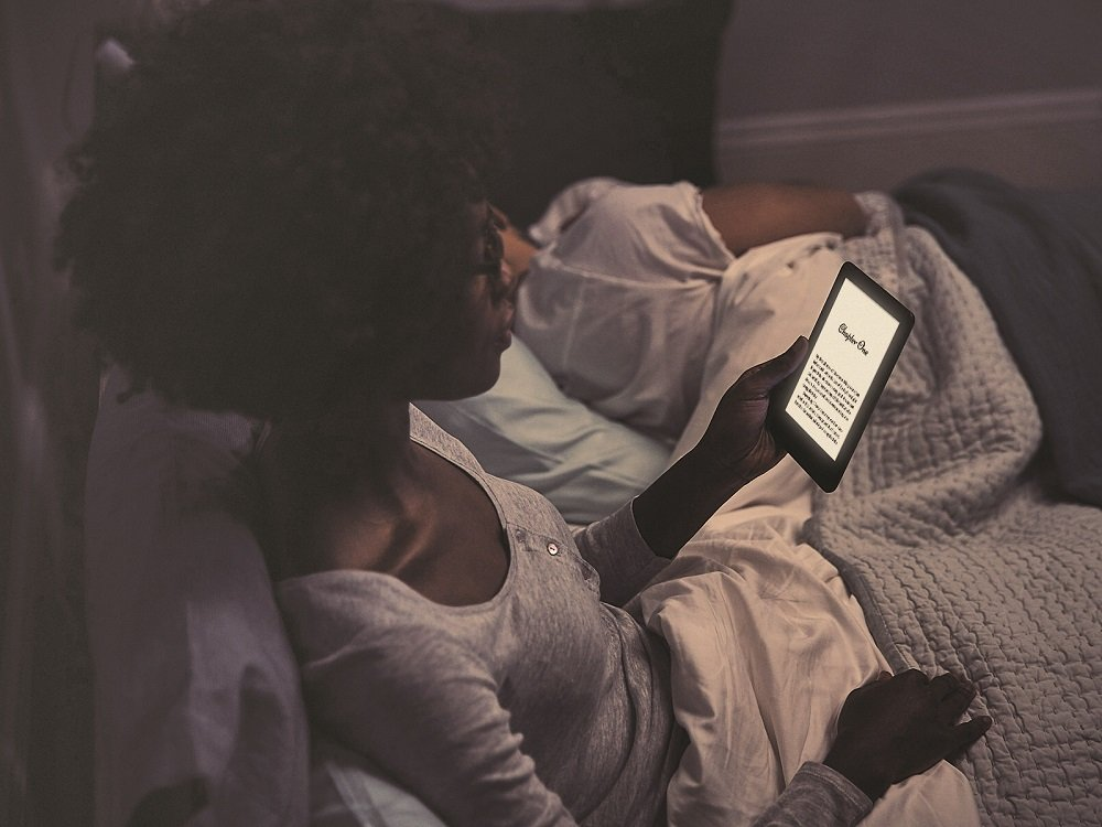 You can finally read in the dark with Amazon's £70 Kindle