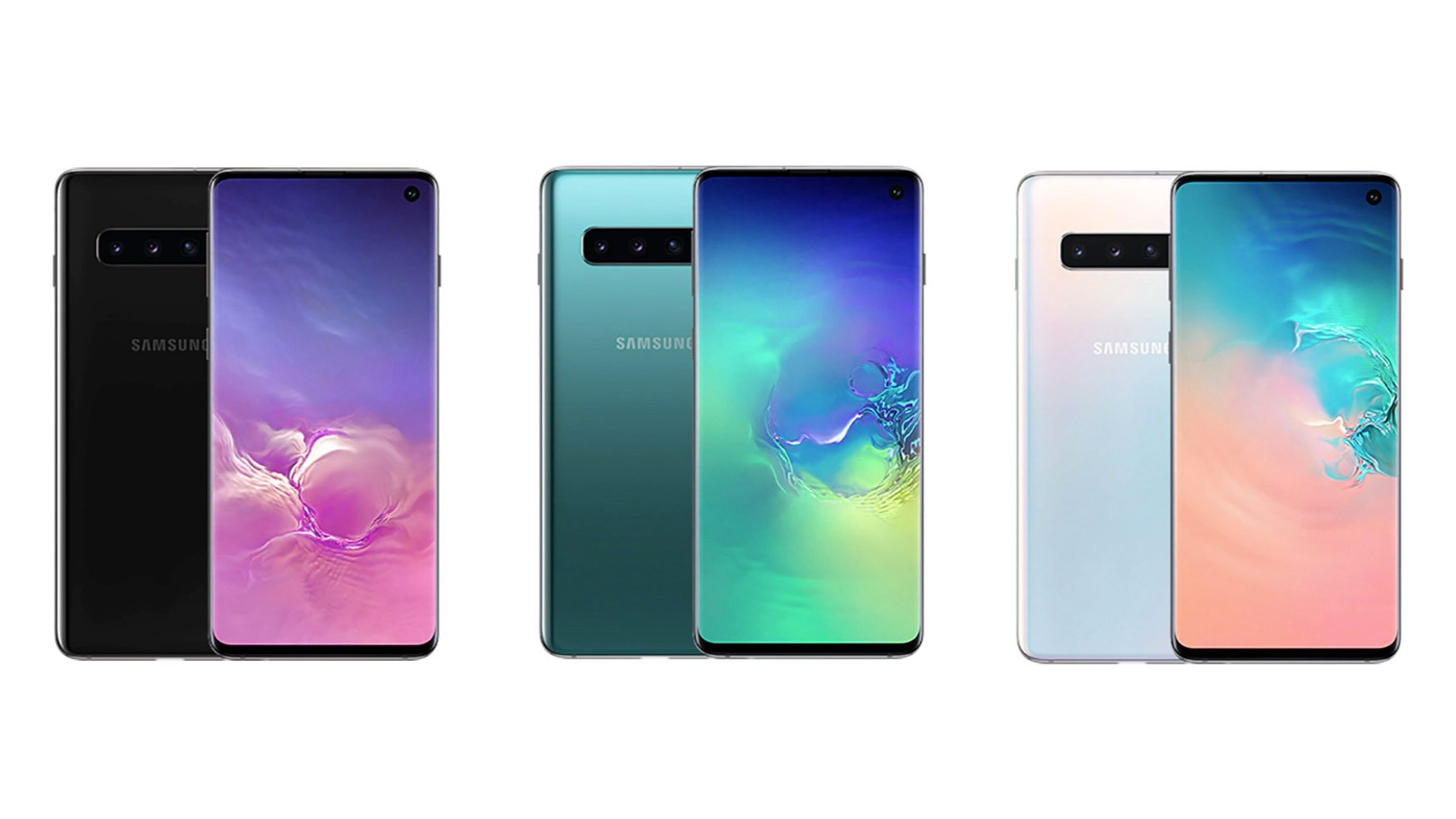 Samsung Galaxy S10 colours: Black to white, and everything ...