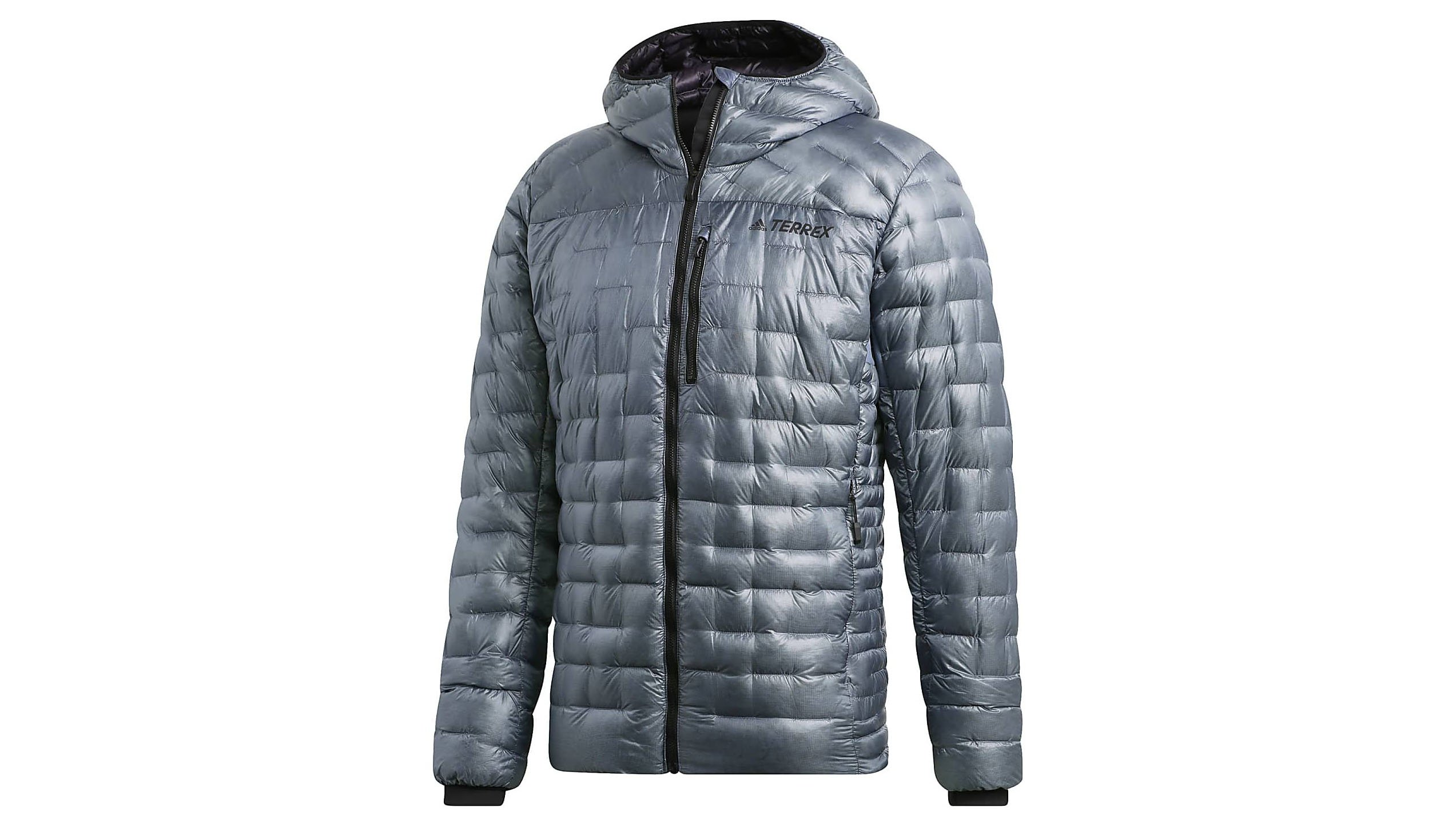 6636d9df9c2 The Adidas Terrex Climaheat jacket is a bold statement of a jacket: a  unique quilted pattern stands out from the crowd and unique colours put an  individual ...