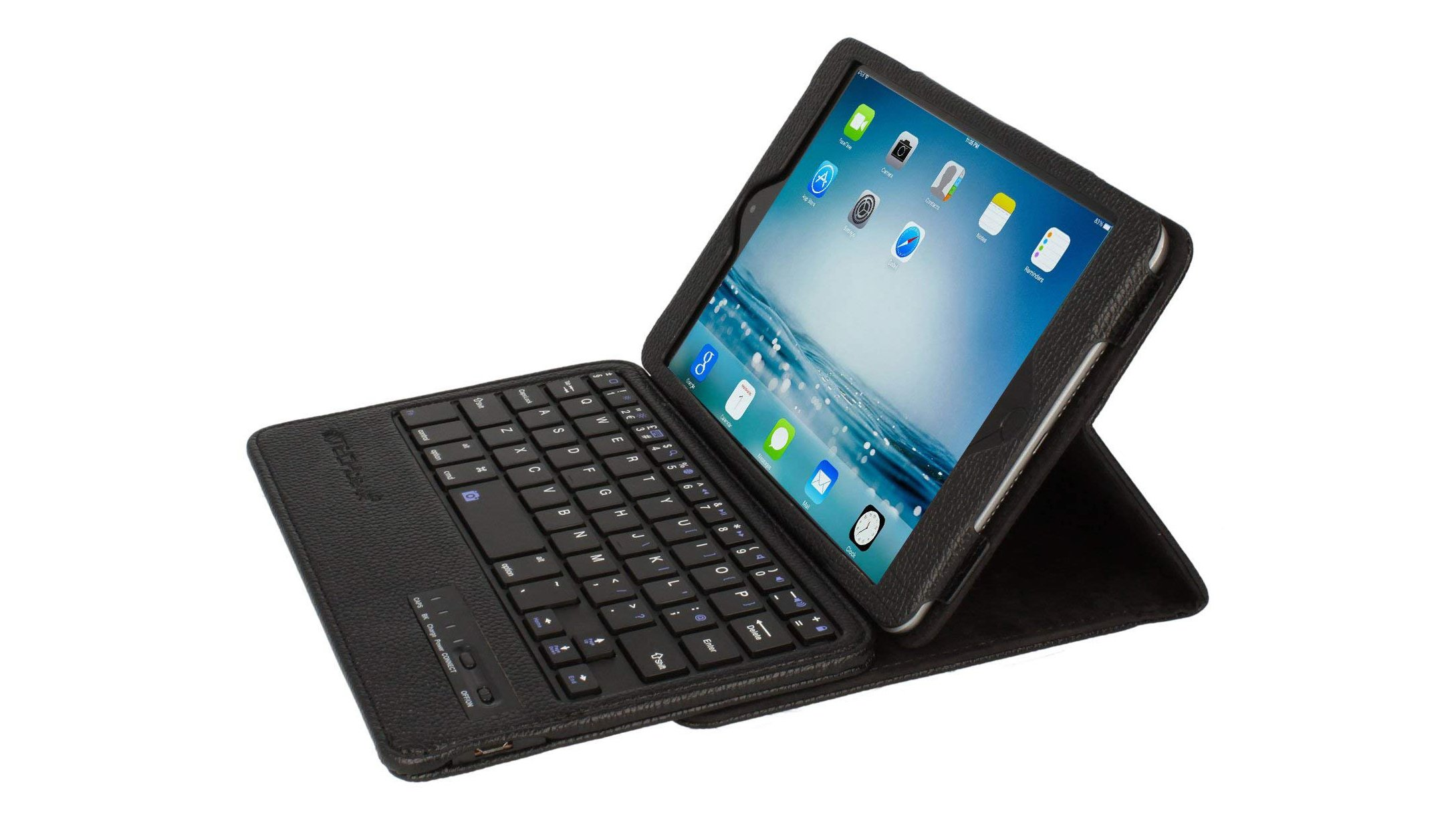 3c5a85b6155 Purchasing this £20 keyboard case from Techgear will effectively turn your  iPad mini 5 into a 2-in-1 laptop. Available in four colours, the UK-layout  ...