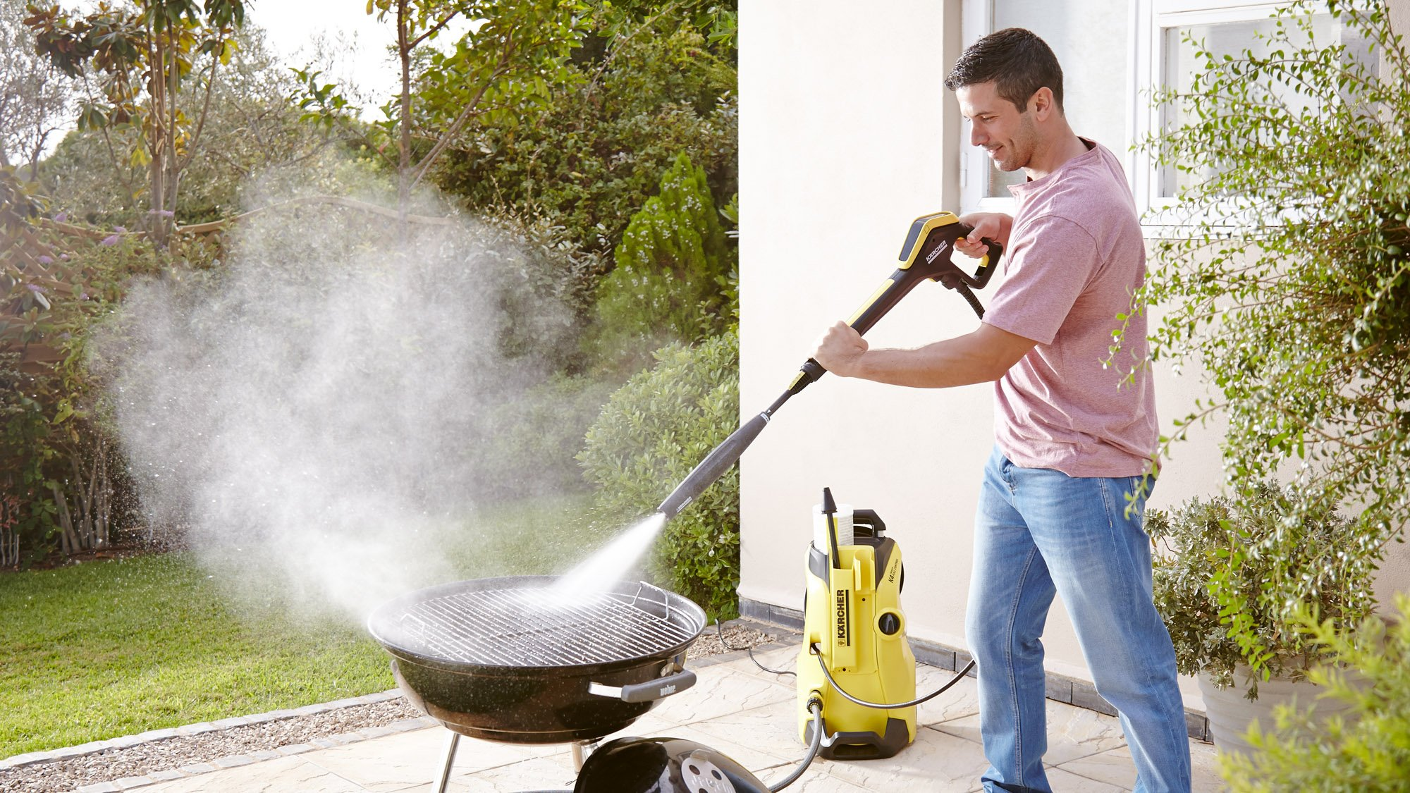 Portable High Pressure Washer Water High Power Jet Wash Garden Cleaning Tool
