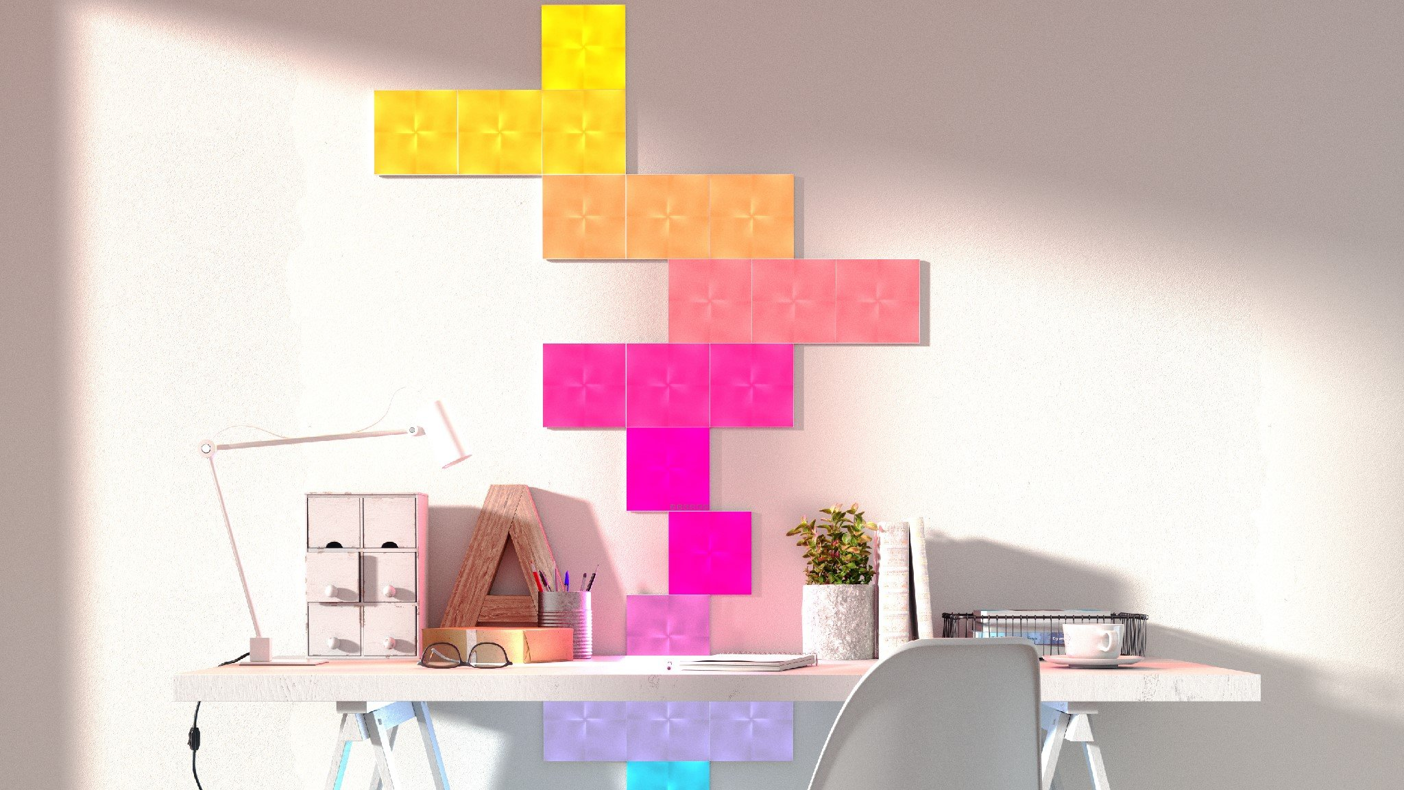 Nanoleaf Canvas Review A Wall Of Colour Expert Reviews