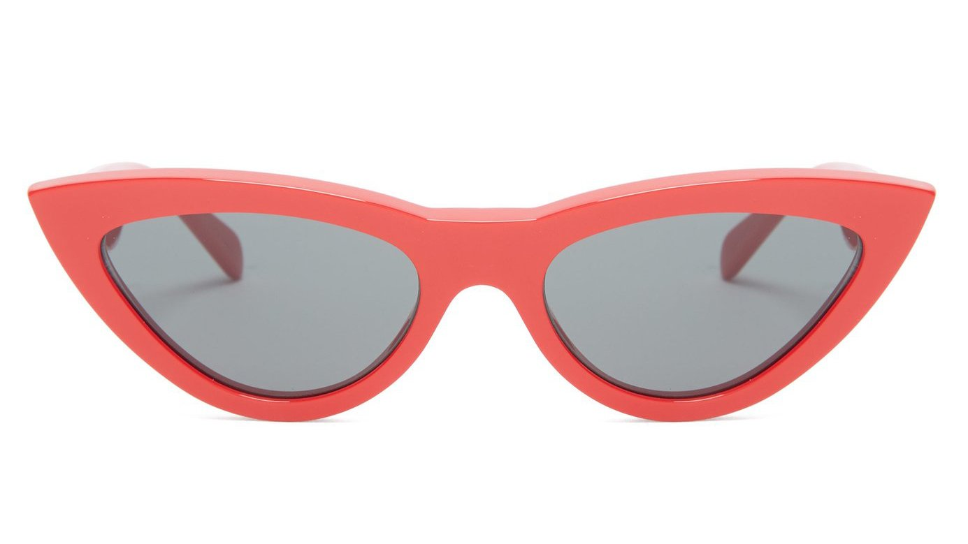 fdd6adee30e55 Cat eye sunglasses are a very popular look for women at the moment