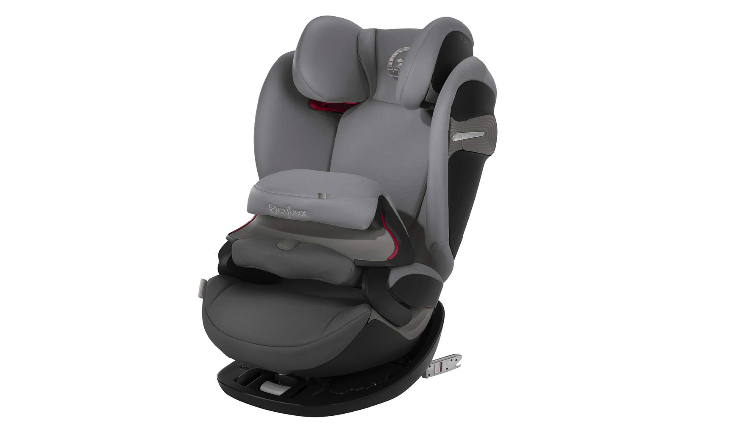 2a188fb9c The Cybex Pallas S-Fix is unlike the majority of car seats on the market.  It swaps the five-point harness – which any parent will tell you can be  fiddly to ...