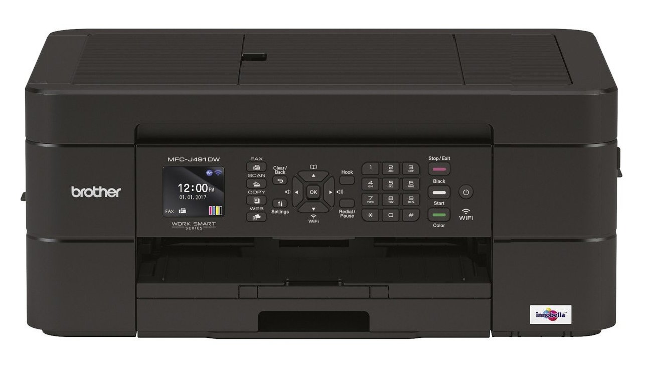Brother Mfc J491dw Review A Lacklustre Printer That Looks