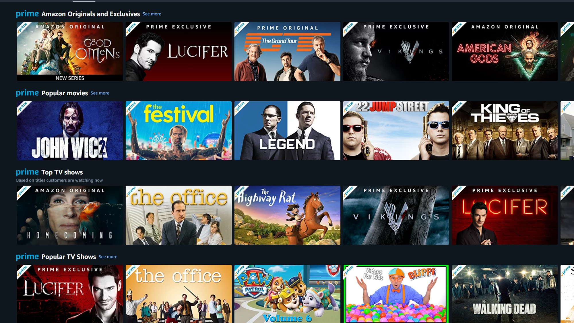 Beste Filme Amazon Prime 2019