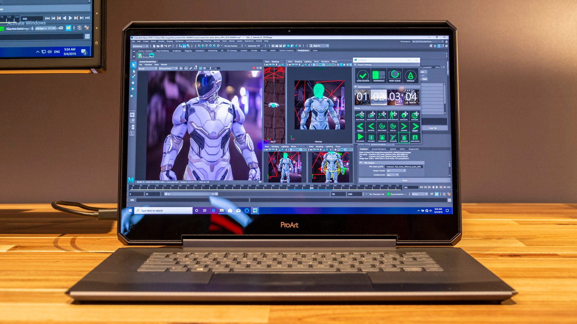 Asus Proart Studiobook One Hands On Review The World S