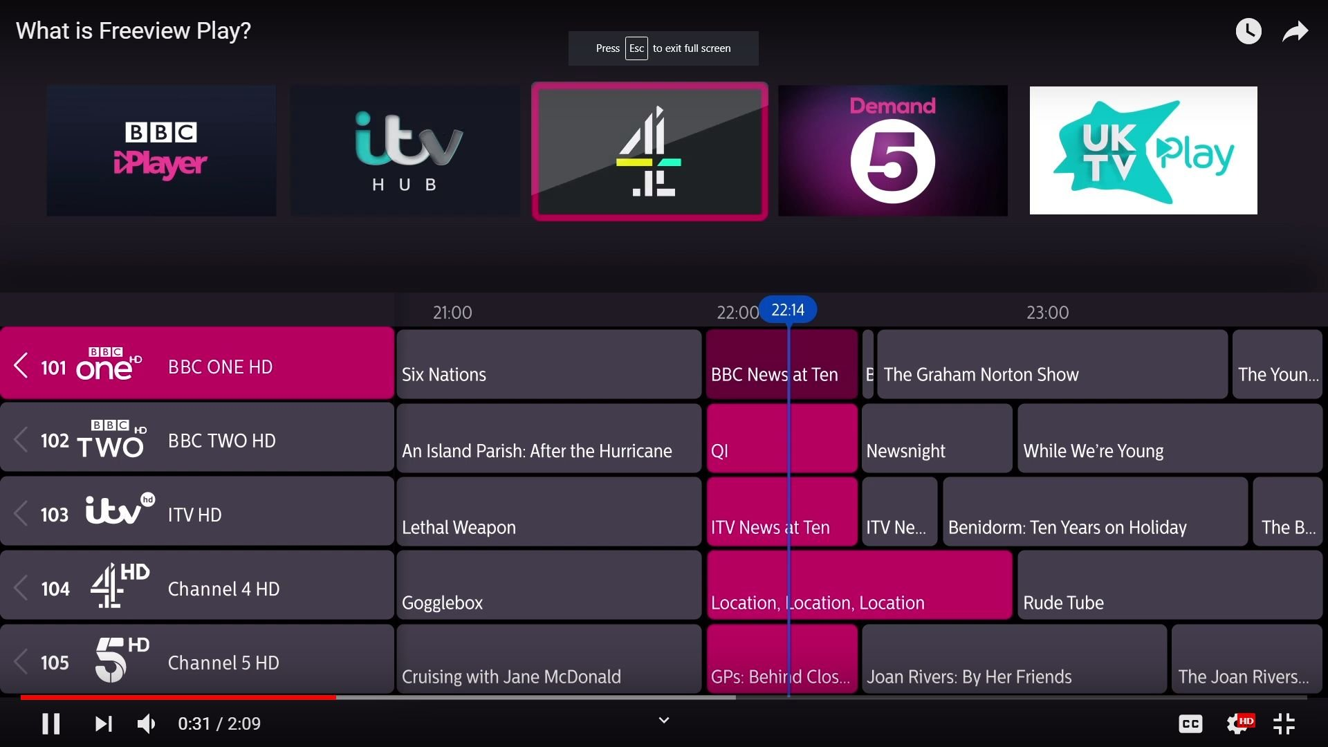 What Is Freeview Play We Run You Through The Popular Catch Up Tv