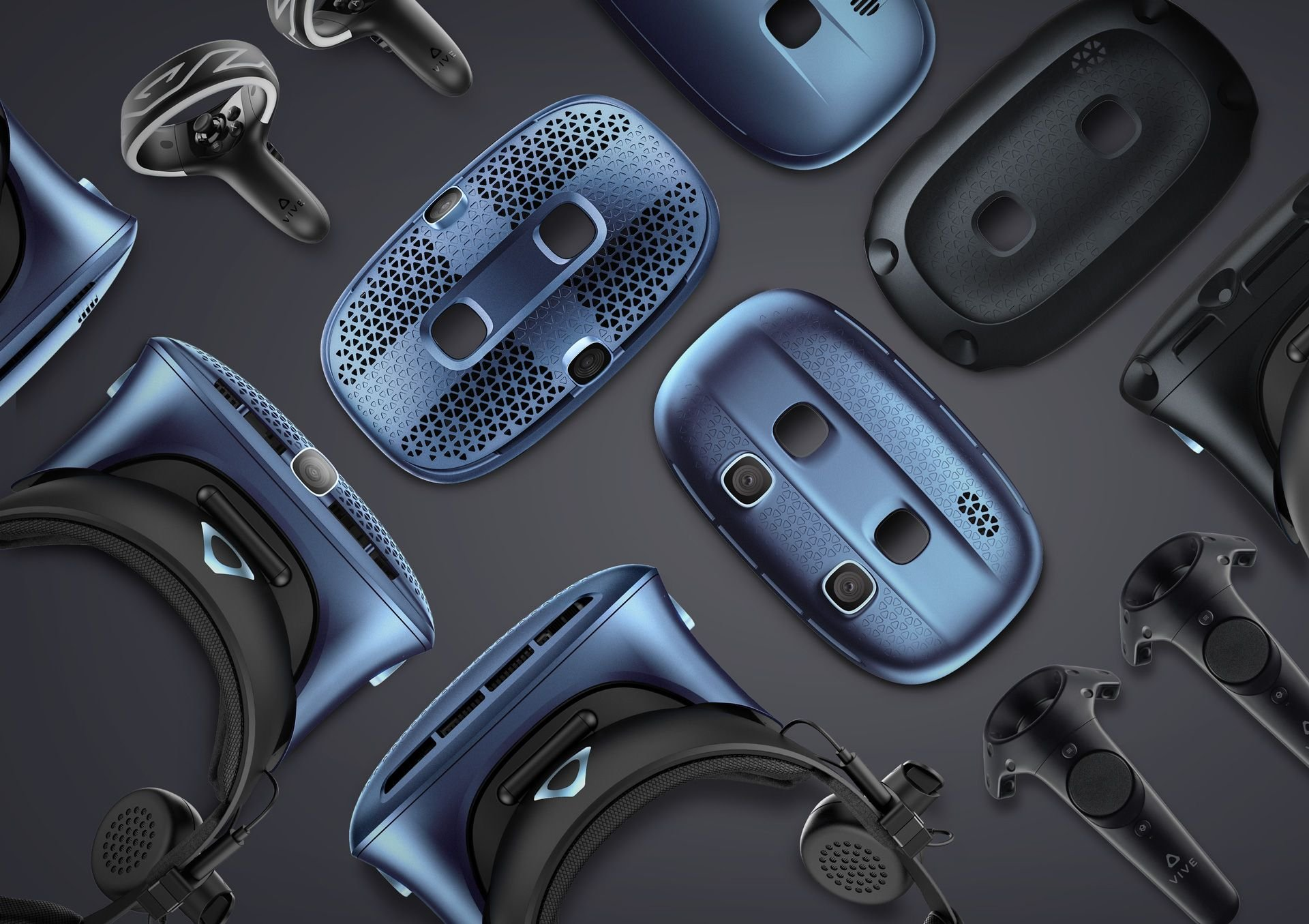 HTC unveils a trio of new Cosmos VR headsets