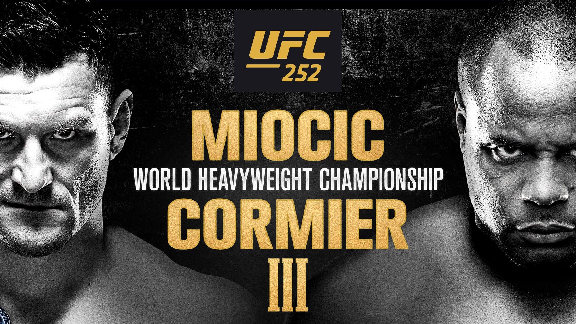 How to watch UFC 252: Miocic vs Cormier