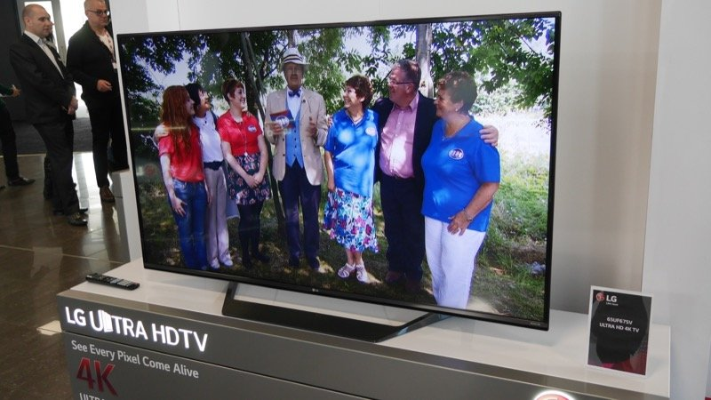 4K OLED leads LG's 2015 TV range - UK models confirmed