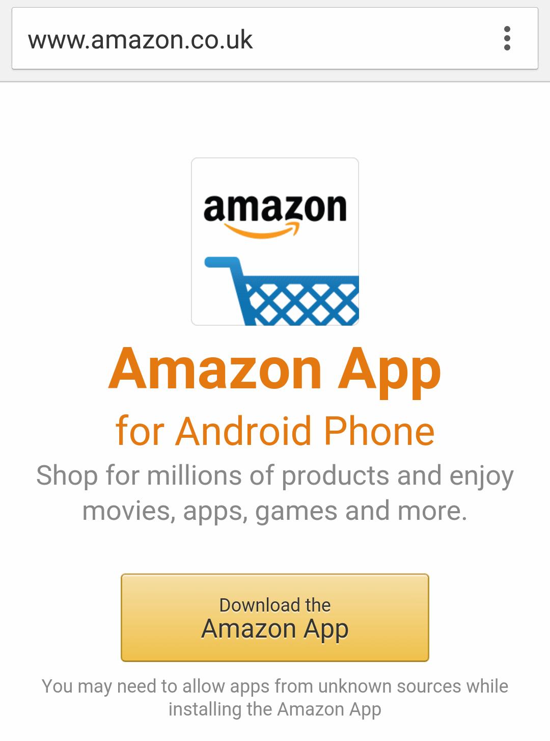 amazon prime video app not working