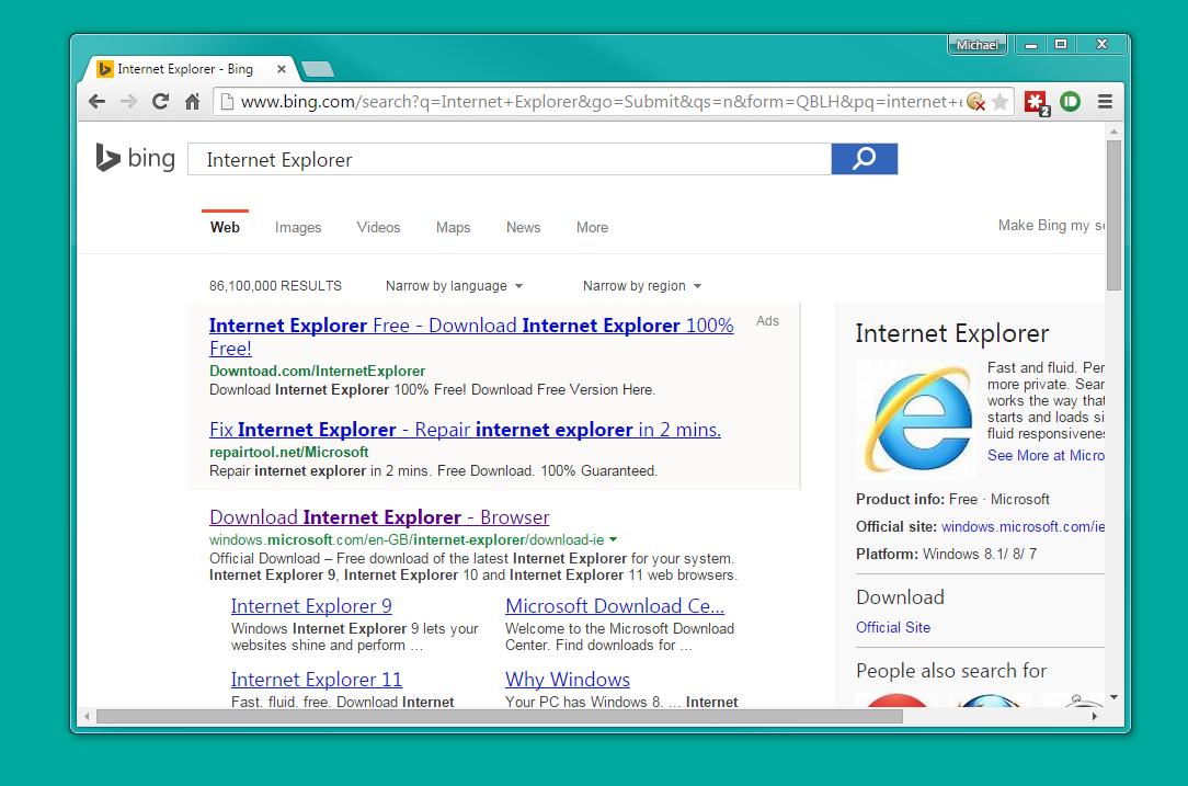 fast internet explorer free download