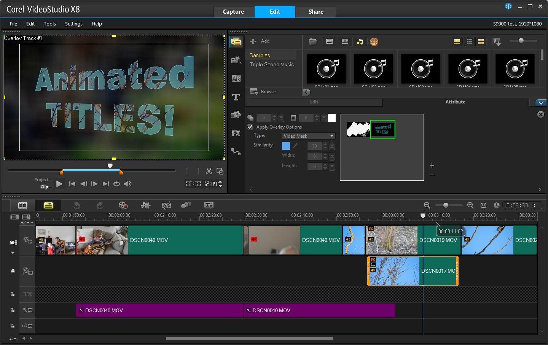 Corel Videostudio X8 Review Expert Reviews