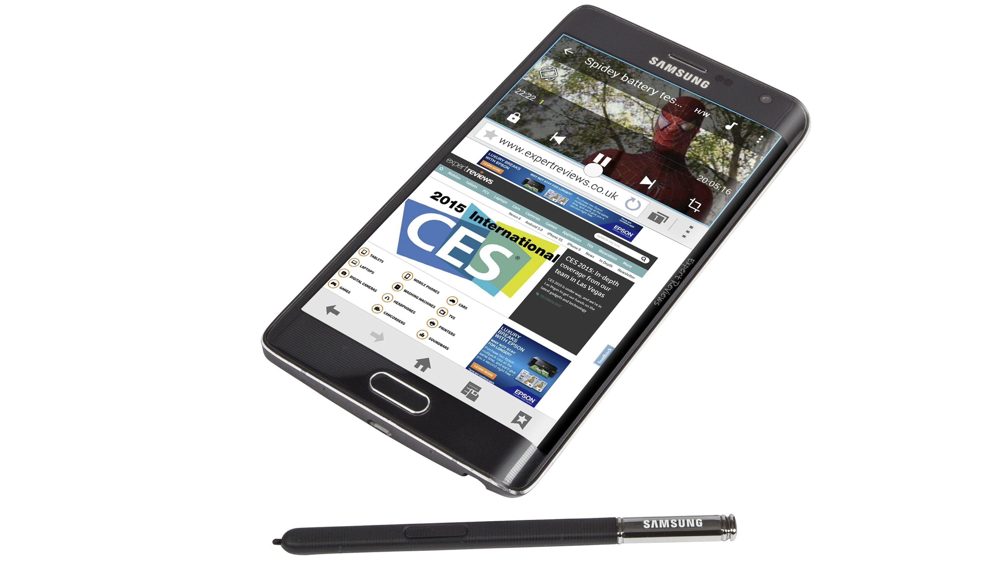 Samsung Galaxy Note Edge Screen, S Pen and Multi Window   3