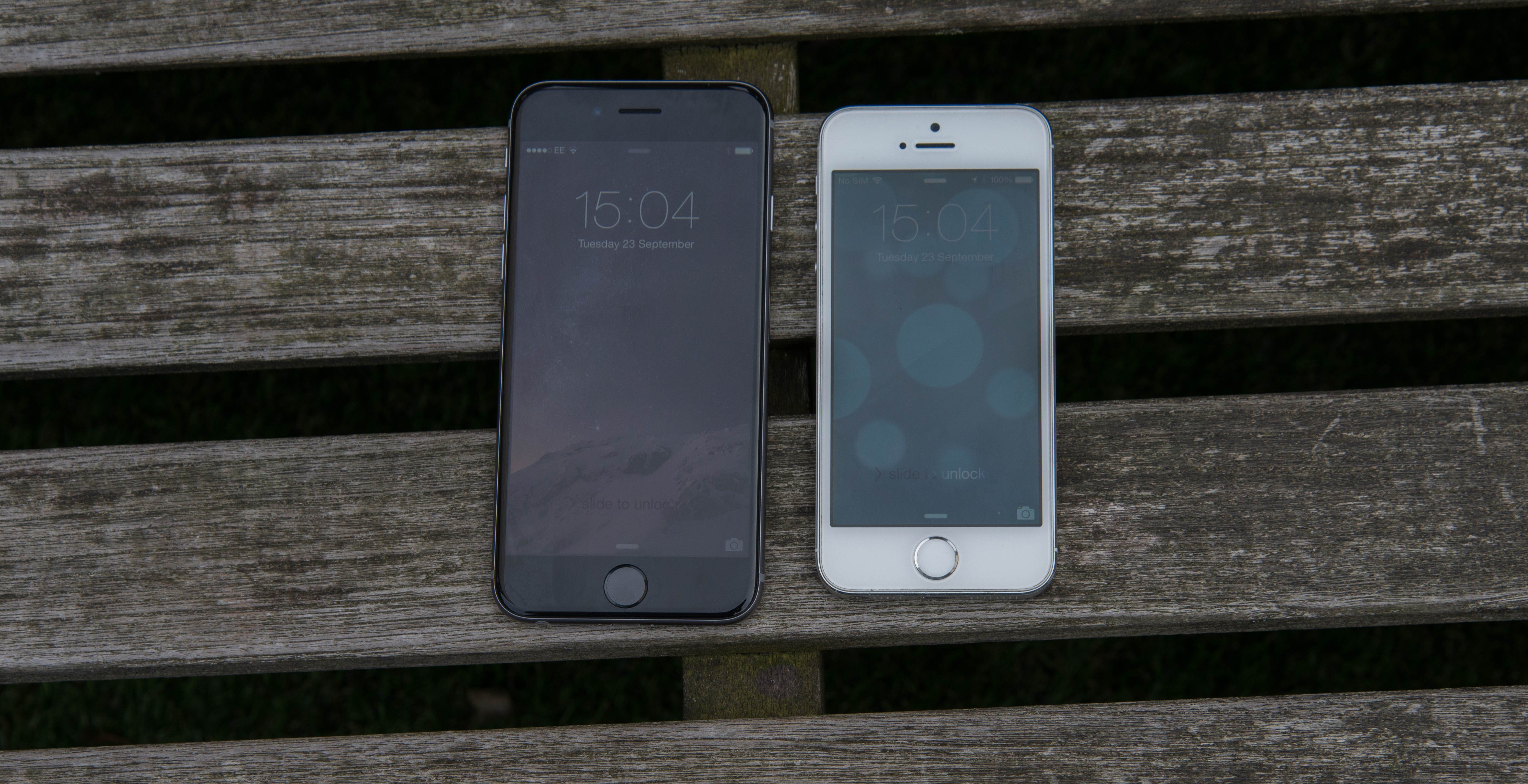 iphone 5s compared to iphone 6