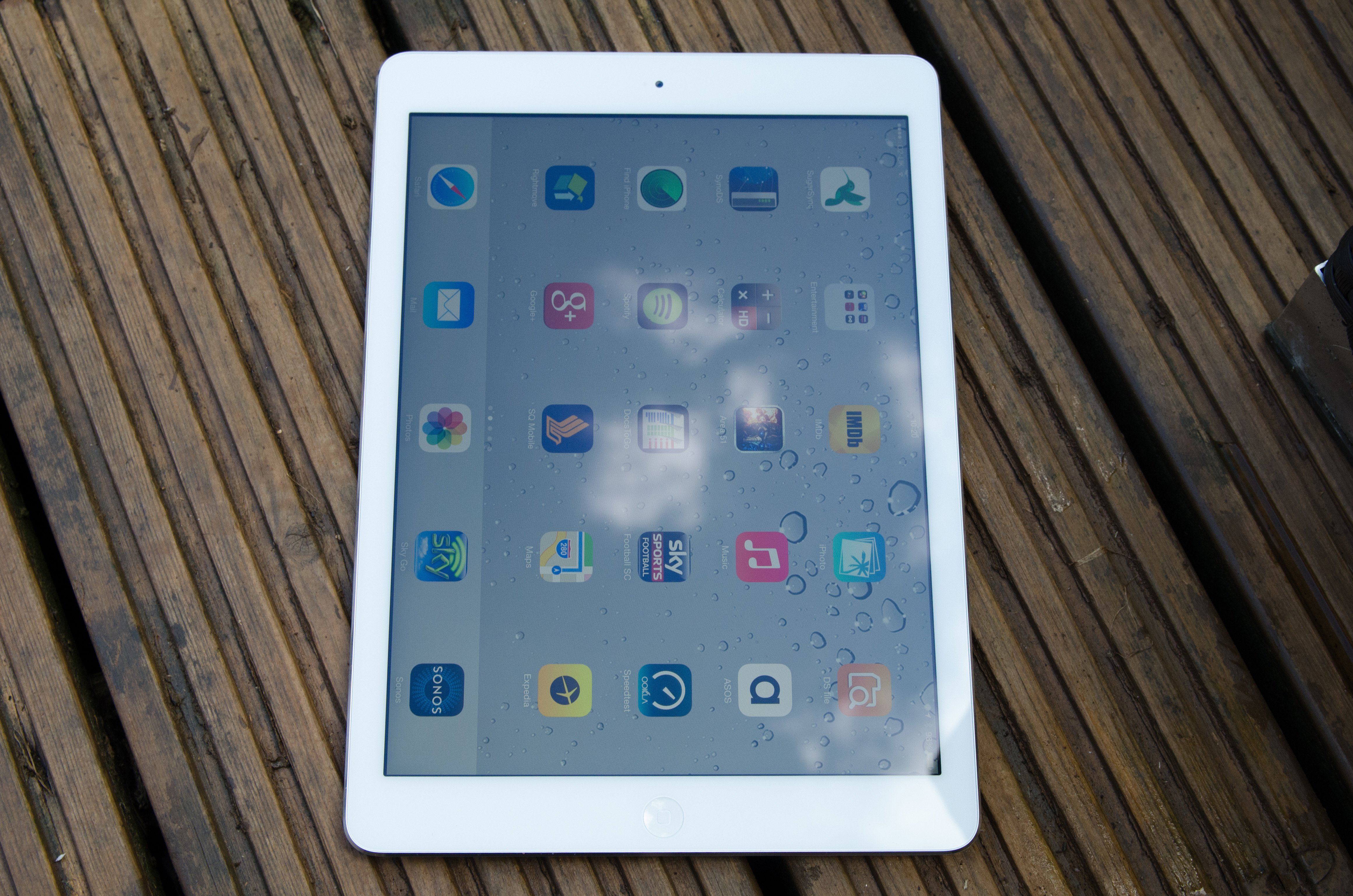 Ipad Air Review Expert Reviews Mini 1 Wifi Cellular 16gb White As Weve Come To Expect The Screen Is Also One Of Best Quality Viewing Angles Are Superb Thanks An Ips Panel Meaning You Can Hold Tablet At