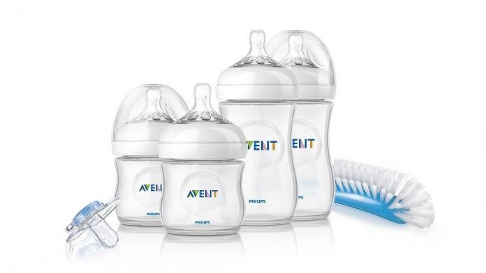 4 x Anti Colic Baby Bottles BPA-Free Hearts White | 9 Count Bottle Brush /& More NUK Nature Sense Perfect Start Baby Bottles Set Dummy 0-18 Months