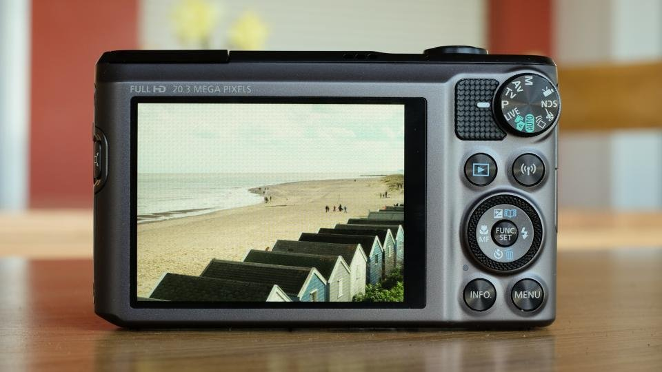 Canon SX720 HS back