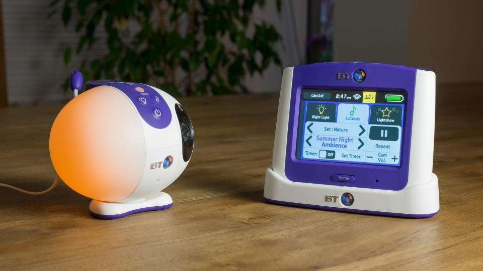 bt 7500 lightshow review our favourite baby monitor. Black Bedroom Furniture Sets. Home Design Ideas