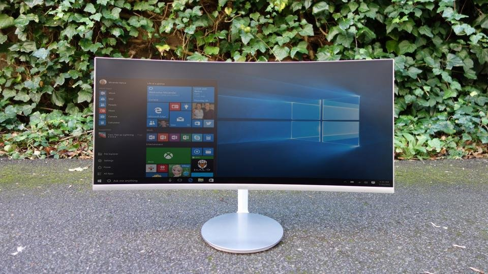 Samsung C34j79 Review The Thunderbolt 3 Curved Monitor