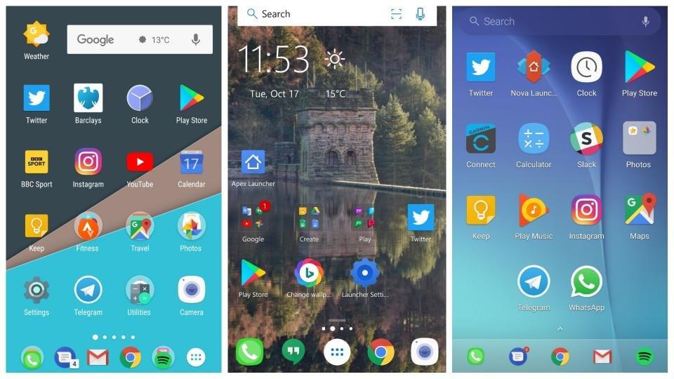 Los mejores launchers - Themes para Android - Temas para tu celular, smartphone, móvil - Launcher gratis geniales