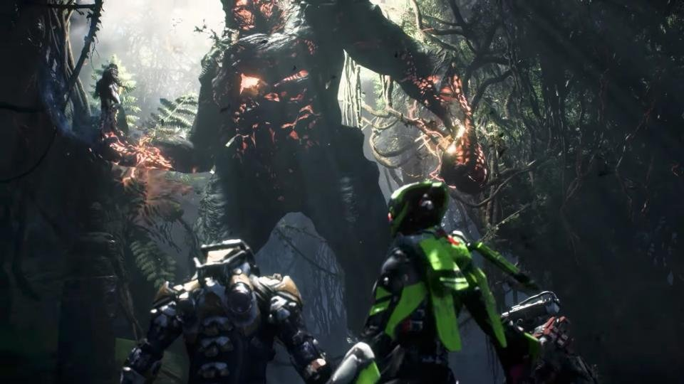 anthem release date rumours and news ea s shared world sci fi epic