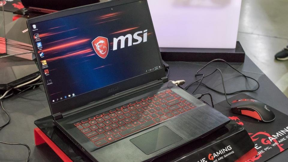 Msi Gf63 First Look Review A Thin And Light Gaming Laptop