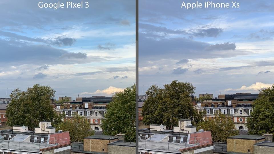 So sánh ảnh chụp từ Google Pixel 3 và iPhone Xs