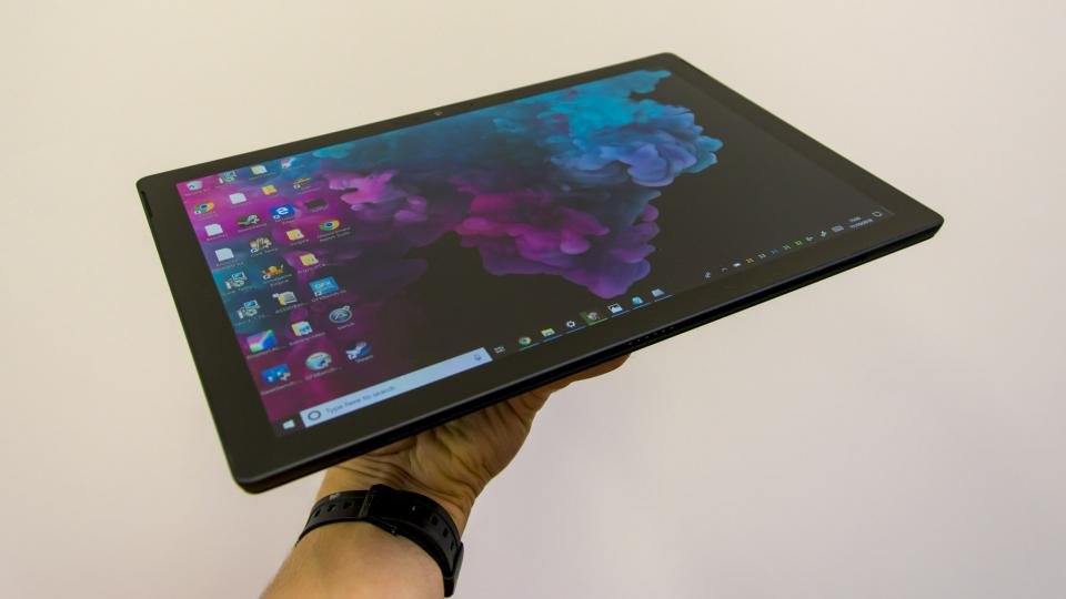 microsoft surface pro 6 review hybrid sequel is just as. Black Bedroom Furniture Sets. Home Design Ideas