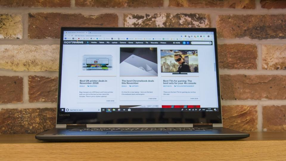 Lenovo Yoga 730 15in review: A mighty 4K 2-in-1 laptop | Expert Reviews