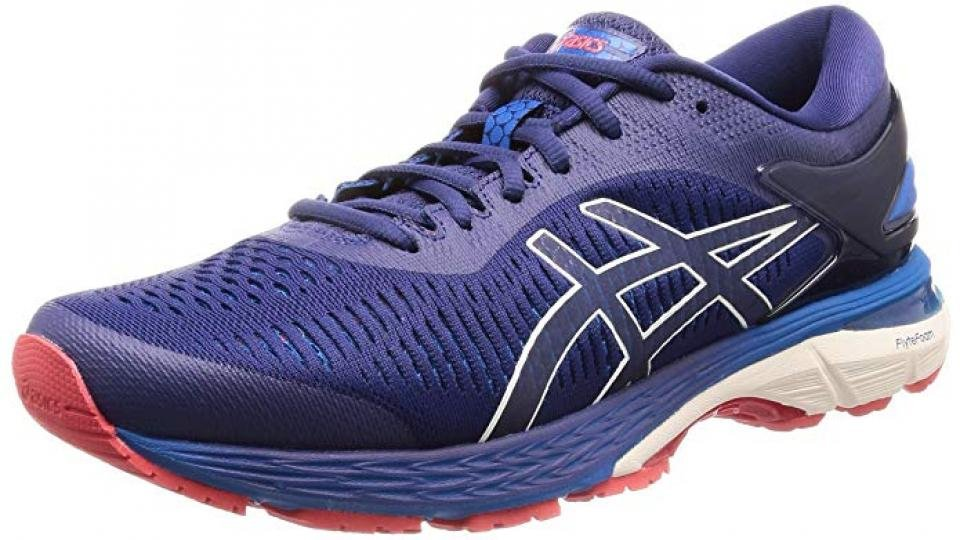 eaa5b0a5d649 The Gel-Kayano 25 is a stability shoe designed for the long haul. Its  supportive elements counter the excessive inward roll of the foot on  runners who ...