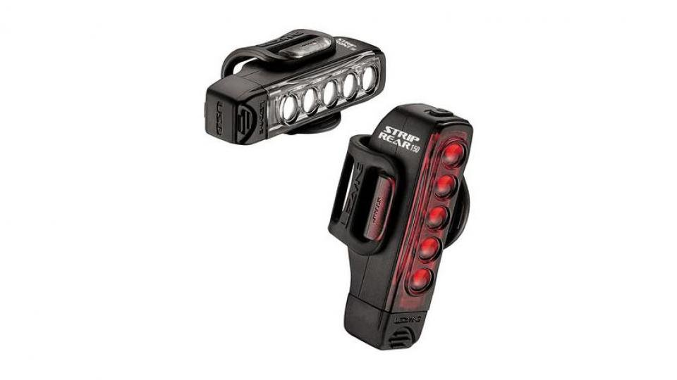 b2a76b444b8 With great brightness, long battery life and a quick charge time, the  Lezyne Strip Drive is our favourite all-round light set.