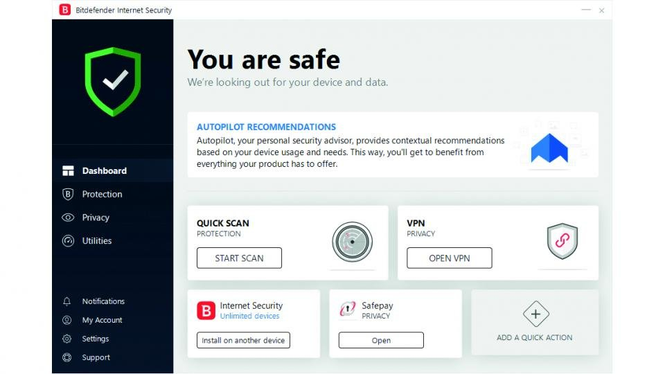 Bitdefender Internet Security 2019 review: Not much has changed, but