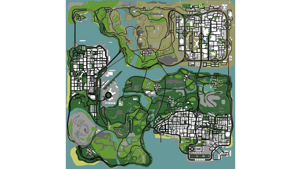 Gta 6 World Map.Gta 6 Trailer Release Date And Map Where Will The New Grand Theft