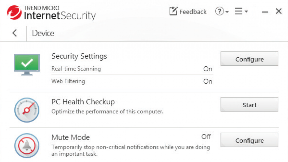 Trend Micro internet security 2019 review: Looks better than