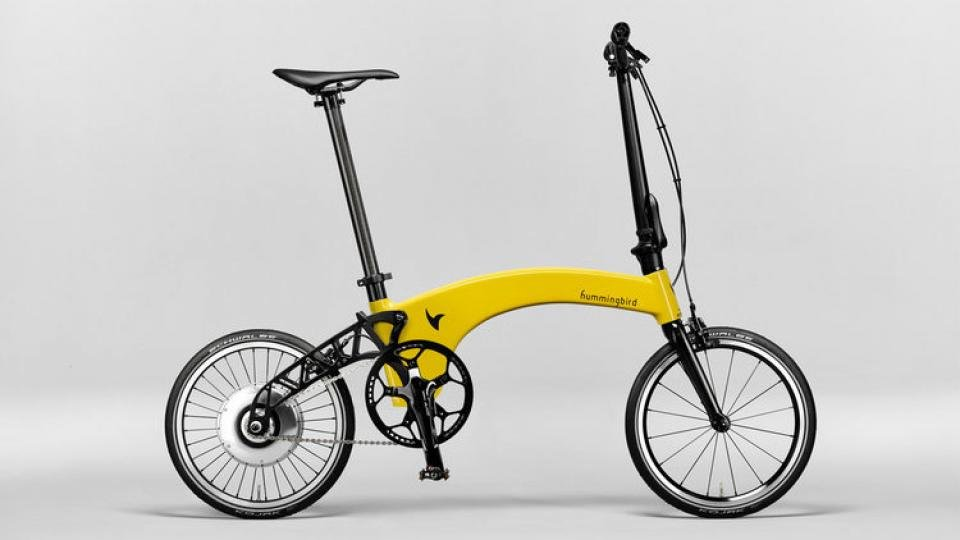 At 10 3kg The Hummingbird Electric Is Lightest Bike You Can Get This Weight Combined With Its Folding Design Makes It A Brilliant Option For