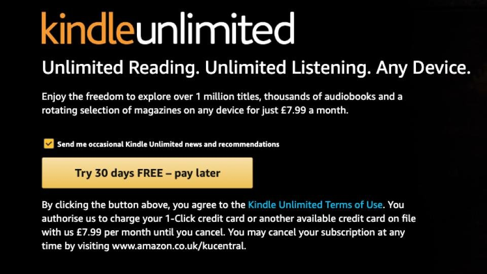 Kindle Unlimited: What does it cost, what's included and how can I