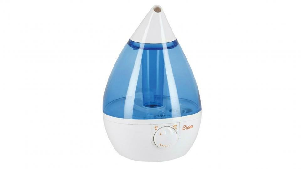Crane Travel Ultrasonic Cool Mist Humidifier 8 oz 6 14 x 3 x