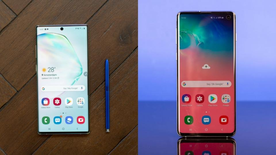Samsung Galaxy Note 10 vs Galaxy S10: Which should you opt