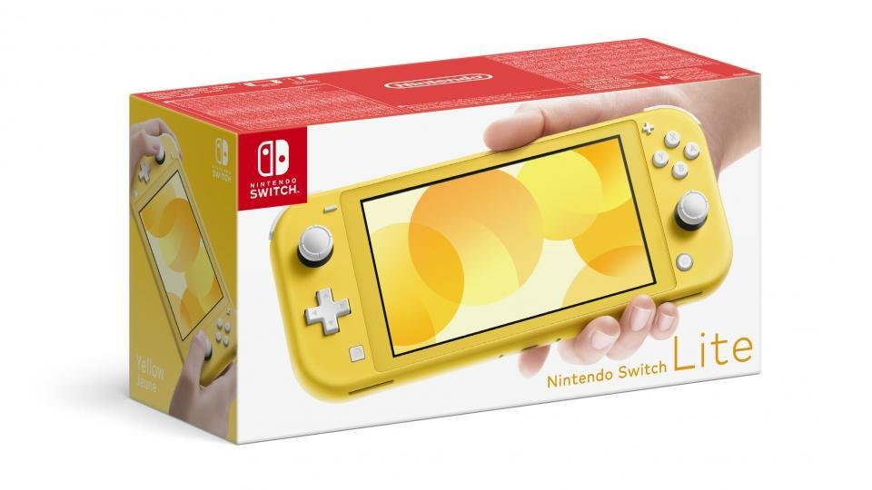 Buy the new Switch Lite and get a free copy of the new Zelda game
