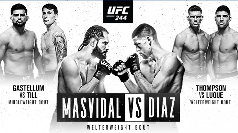 Watch UFC 244: Masvidal Vs Diaz 11/2/19