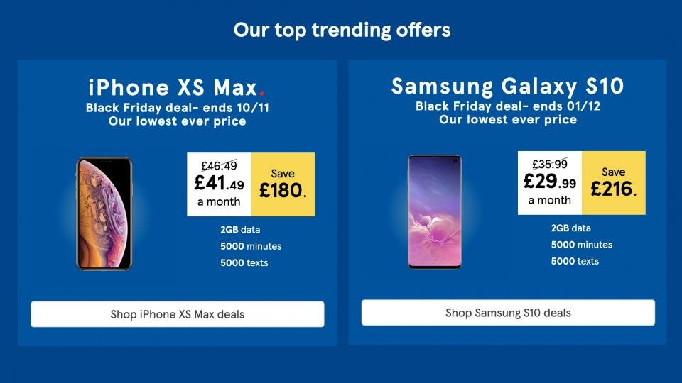 Save 216 On The Samsung Galaxy S10 In The Tesco Mobile
