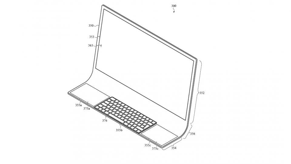 A future iMac could be made from a single sheet of curved glass,