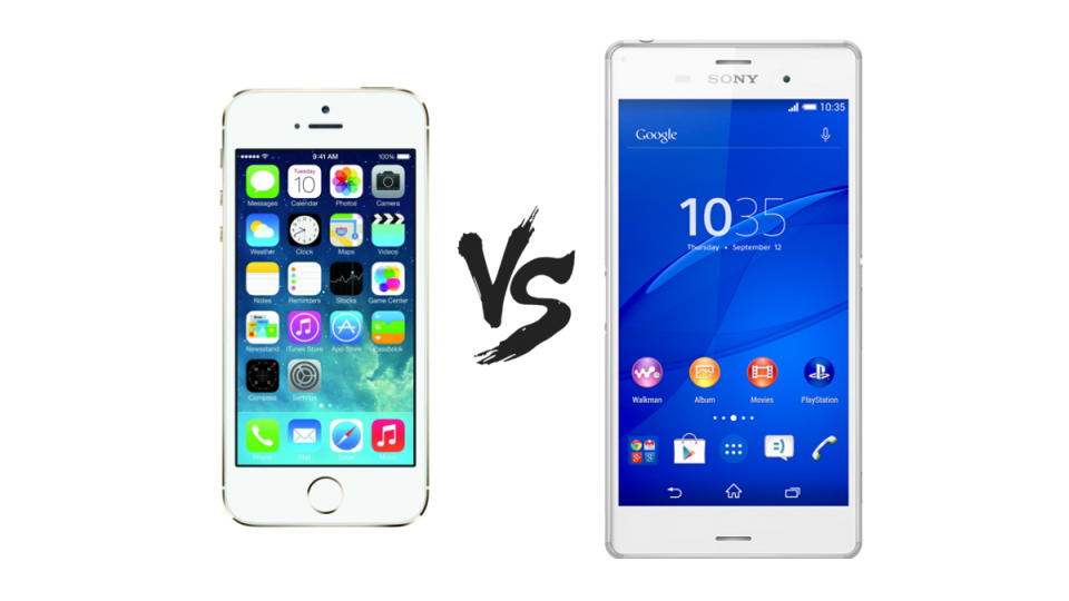 Sony Xperia Z3 vs iPhone 5s - which should you buy? | Expert Reviews