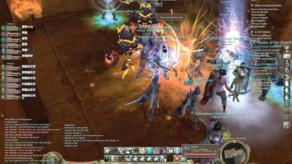 Ncsoft Aion The Tower Of Eternity Review Expert Reviews