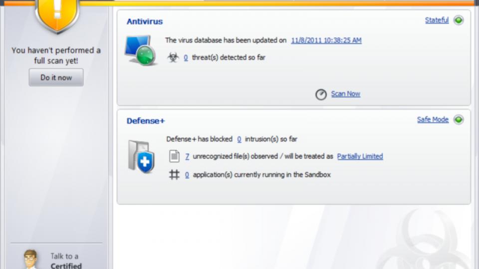 Comodo Antivirus 5 8 review | Expert Reviews