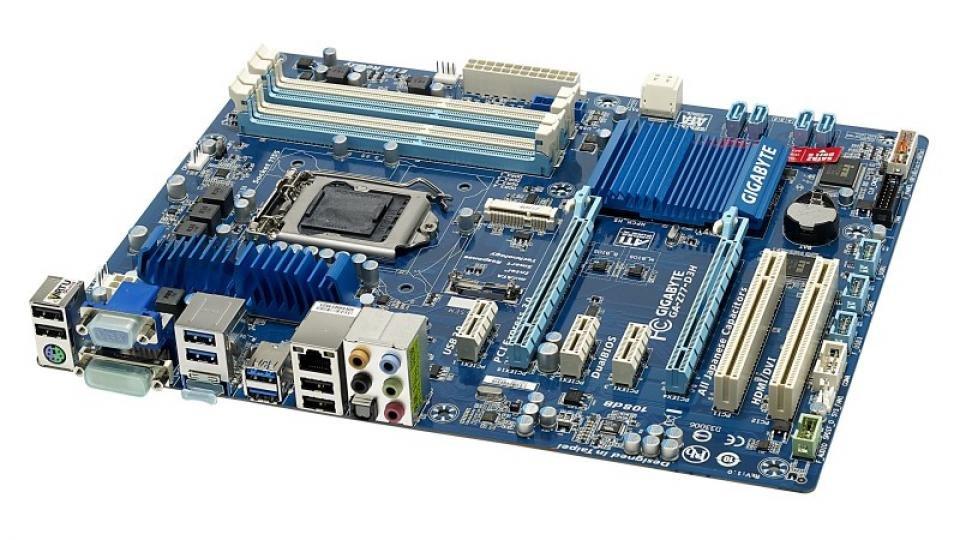 Gigabyte motherboard socket 1155 ga-z77-d3h (rev. 1. 2).
